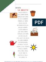 Poesia La Maceta y Preguntas de Comprension