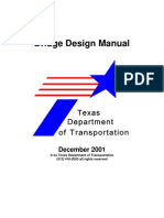 Bridge Design Manual-Texas Department of Transportation