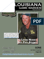 Louisiana Game Warden Magazine - Winter 2011