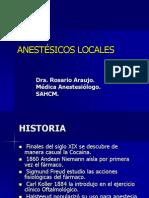 Anestesicos Locales (Charito)