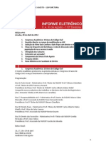 Infome Eletrônico nº XI_CA XI de Agosto