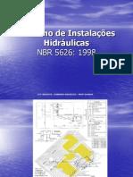 Desenho de Instalações Hidráulicas