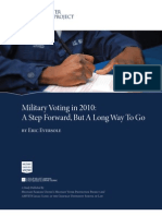 Military Voting Project Study