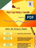 Test de Picq y Vayer