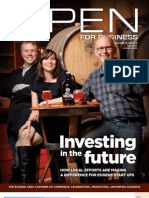 Open For Business Magazine - April/May 12 Issue