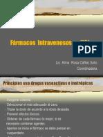 Farmacos Intravenosos en Uci