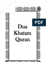 Dua Khatam Quran