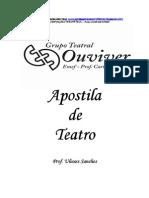 Apostila de Teatro - Ulisses Sanches