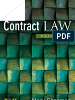 Contract Law, 4th Edition (1843923580)