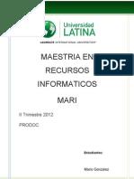 Prodoc Mario Gonzalez