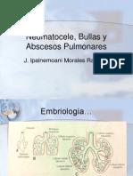 Neumatocele, Bullas y Abscesos Pulmonares