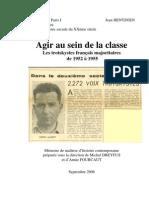 Agir au sein de la classe - les trotskystes français