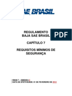 RBSB 7 - Requisitos Minimos de Seguranca - Emenda 3