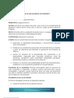 INFORME DE EJECUCIÓN DE ACTIVIDADES
