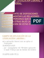 Definicion de Legislacion Laboral o Derecho Laboral