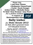 Sally Lieber for Senate Palo Alto 04-23-12