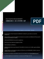GU_SAP ECC_Connexion à un système SAP