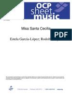 Misa Santa Cecilia (Bilingual)