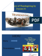 The History of Thanksgiving by Maxim M Final PDF