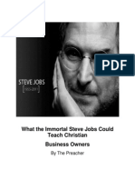 What The Immortal  Steve Jobs Could Teach Christian Business Owners