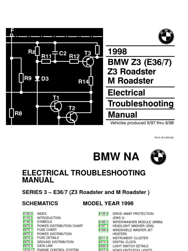 1996 Bmw Z3 Engine Diagram Schematic Diagrams 2000 Mazda MX-5 Roadster 2000 Bmw  Z3 Roadster Diagram
