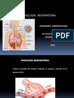 Exposición Fisiologia respiratoria