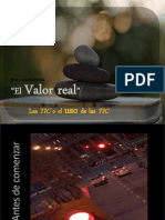 Desconferencia El Valor Real