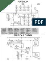 Circuito Eletrico Treinamento - colhedora cana
