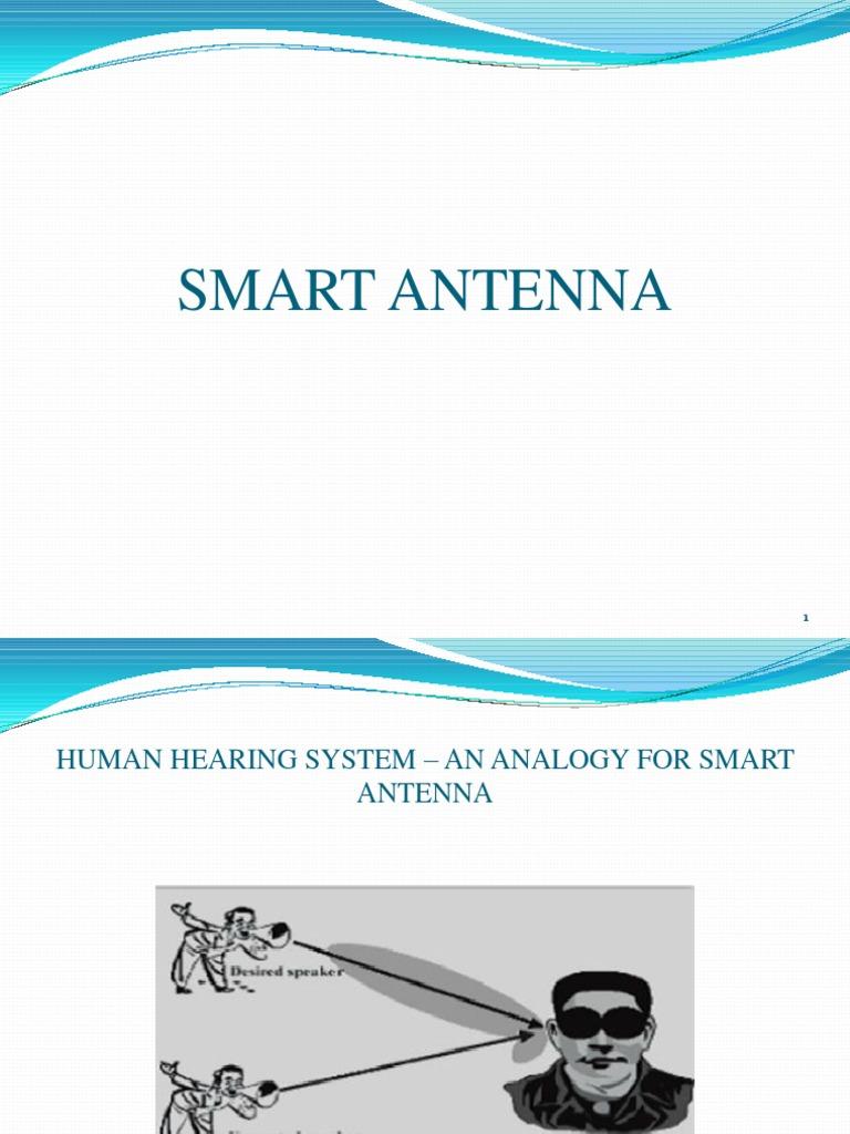 Ppt on smart antennas - Ppt On Smart Antennas 0