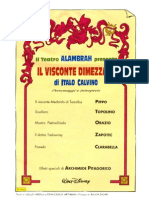 Il Visconte Dimezzato - Topolino