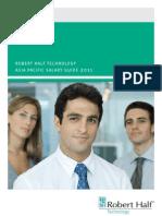 Robert Half Technology Salary Guide 2011