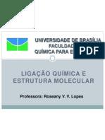 Topico 3 - Ligacao Quimica e Geometria Molecular