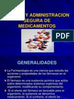 Clases Administracion de Medicamentos