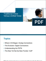 Lecture 1 - Traditional Voice Versus Unified Voice