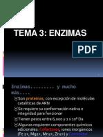 3.- Bioquimica Enzimas (Tema 3)