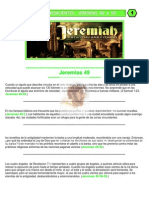 Puntos Sobresalientes - Jeremias 49 a 50
