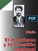Stalin ElMarxismoylaCuestionNacional