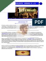 Puntos Sobresalientes - Jeremias 51 a 52
