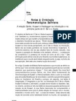 Silva,l.d.da Ontologia.fenomenologica.sartreana Relacao.sartre.husserl.heidegger.na.Intro.e.1a.parte.de.o.ser.e.o.nada