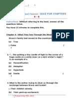 Quiz Chapter 4-6