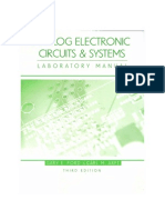 Analog Electronic Circuits and System 3e Gary Ford Carl Arft