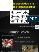 Riesgos y Complicaciones asociados a la Actividad Física