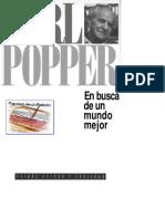 Karl Popper - En Busca de Un Mundo Mejor