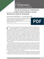 Eutanasia y malas noticias-español