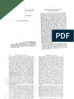 Sapir, Edward. - El lenguaje. Introducción al estudio del habla. Cap. 1 y 2