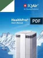 Iqair Healthpro User Manual