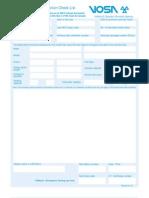MOT Inspection Checklist (VT 40)