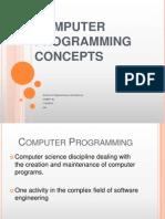 01Computer Programming Concepts