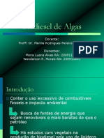 Biodisel de Algas - 2011