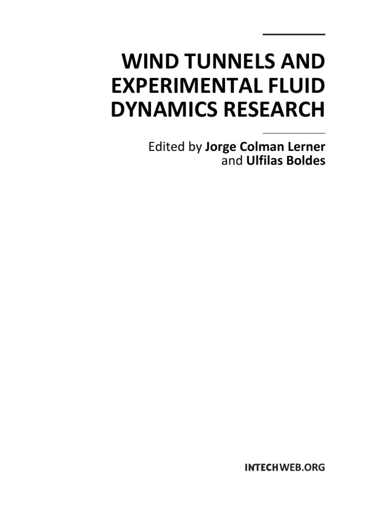Wind tunnels and experimental fluid dynamics research principal wind tunnels and experimental fluid dynamics research principal component analysis fluid dynamics fandeluxe Choice Image
